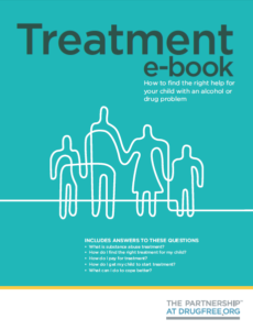 drug treatment guide book for parents